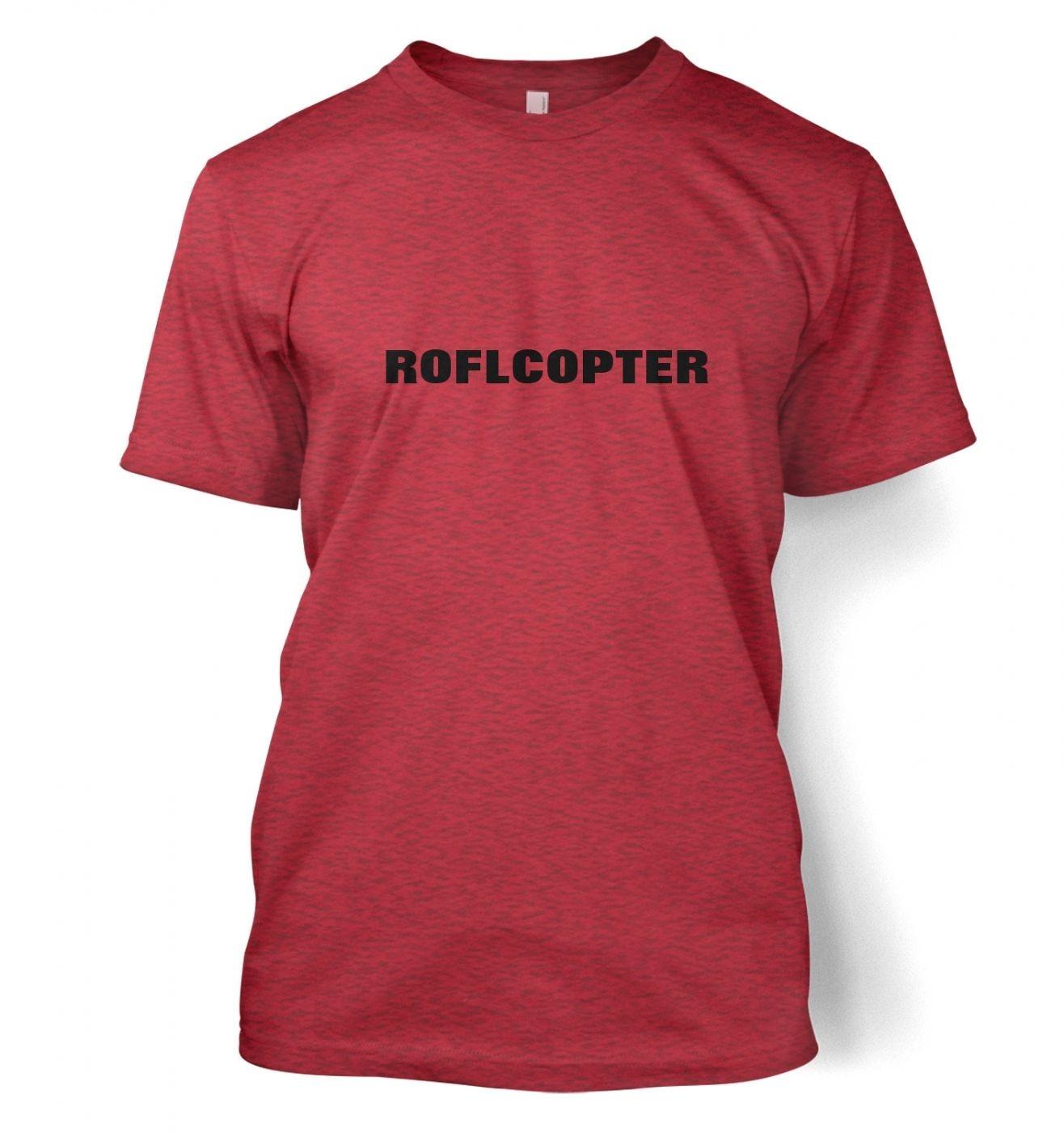 ROFLCOPTER Men's t-shirt