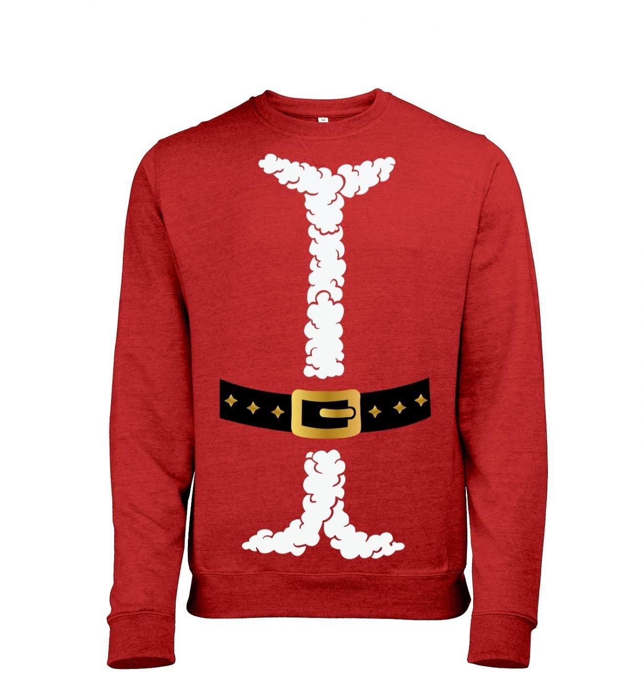 Santa costume sweatshirt (heather)