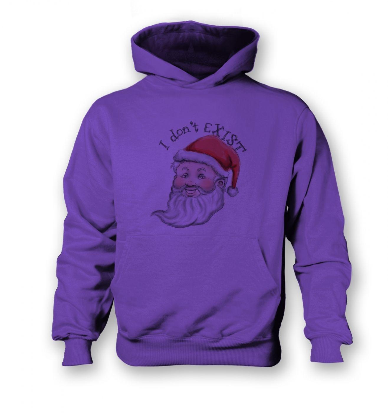 Santa does not exist children's hoodie