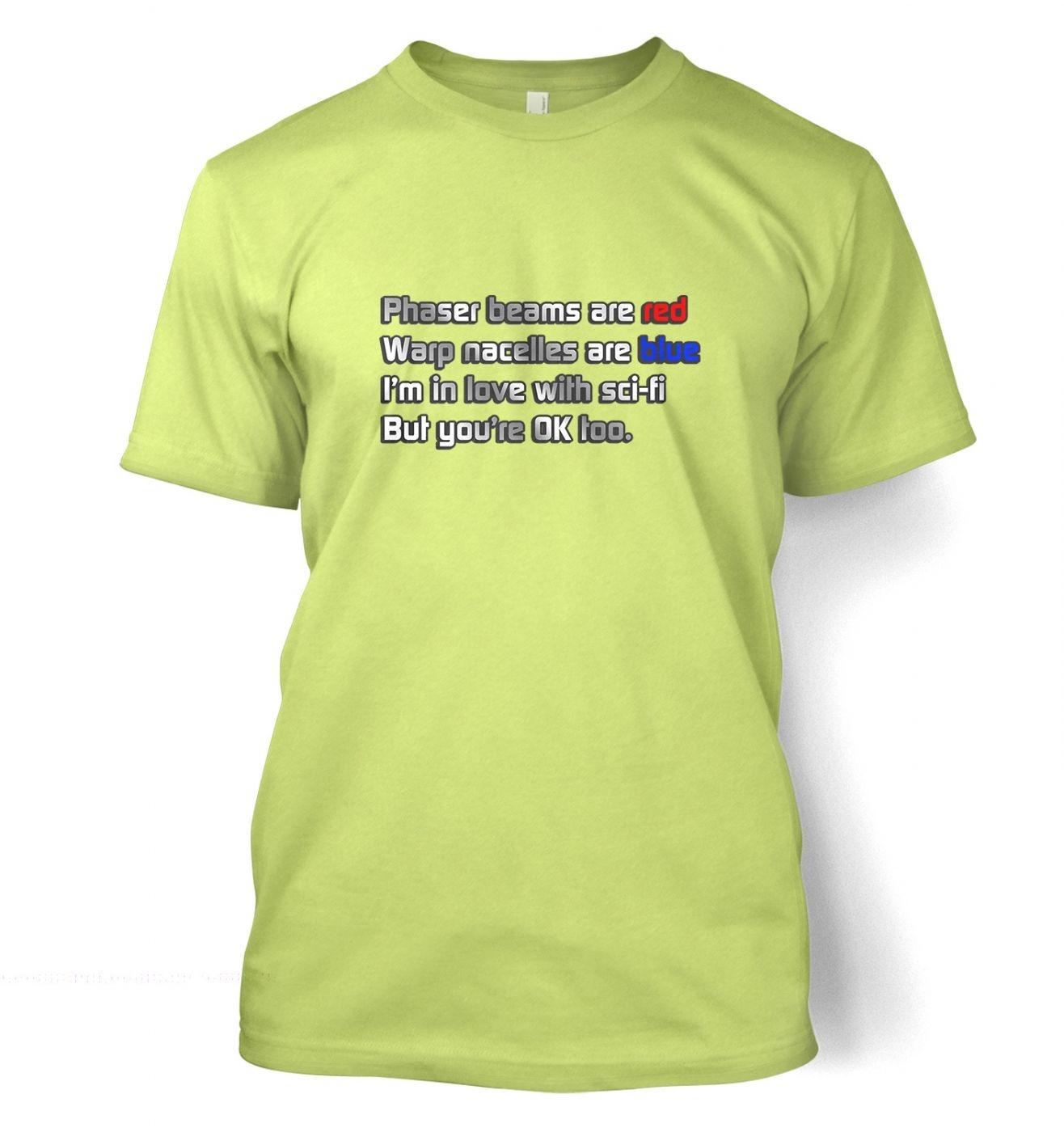 Sci-Fi Valentine t-shirt
