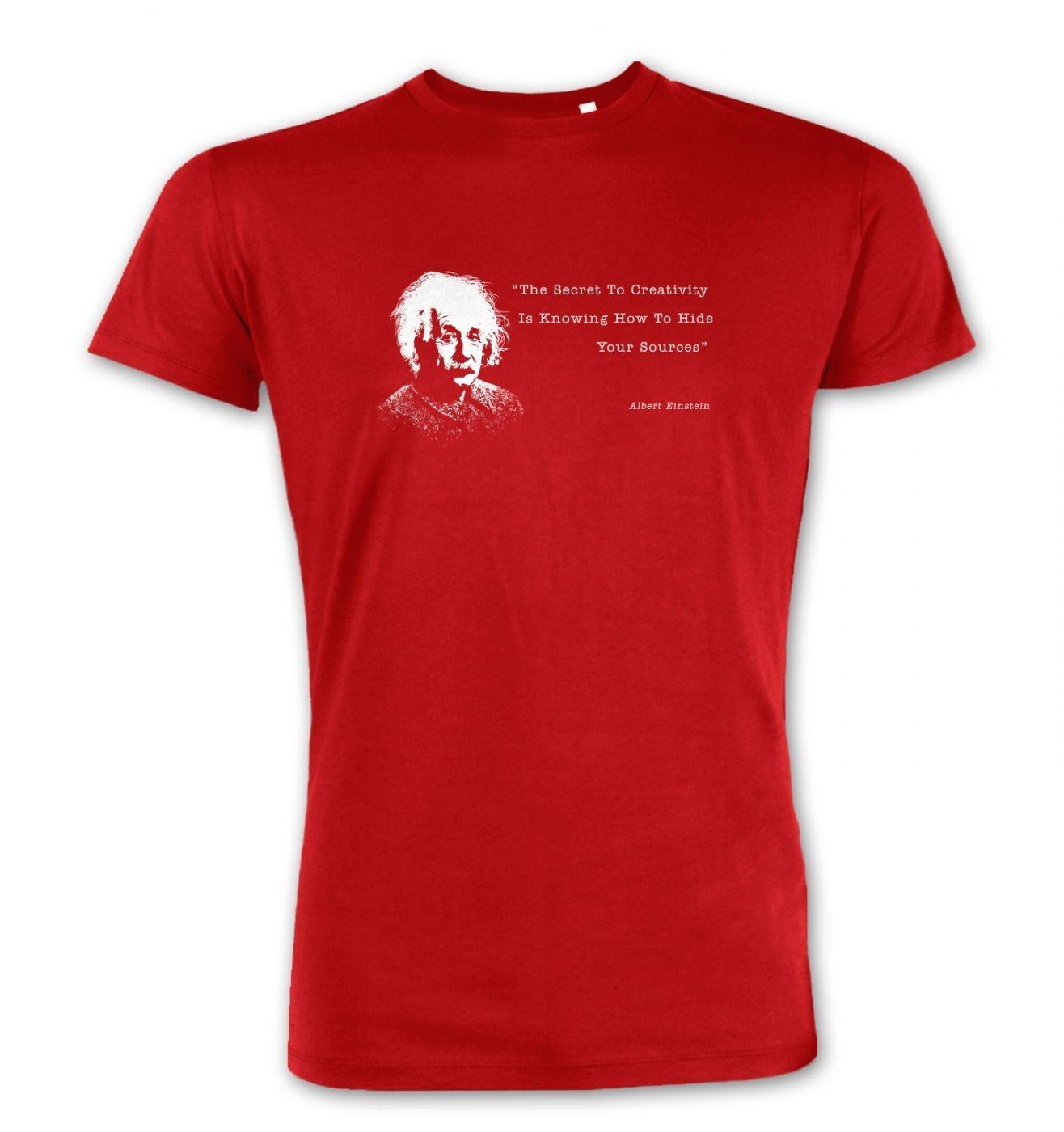 Secret To Creativity Einstein Premium t-shirt