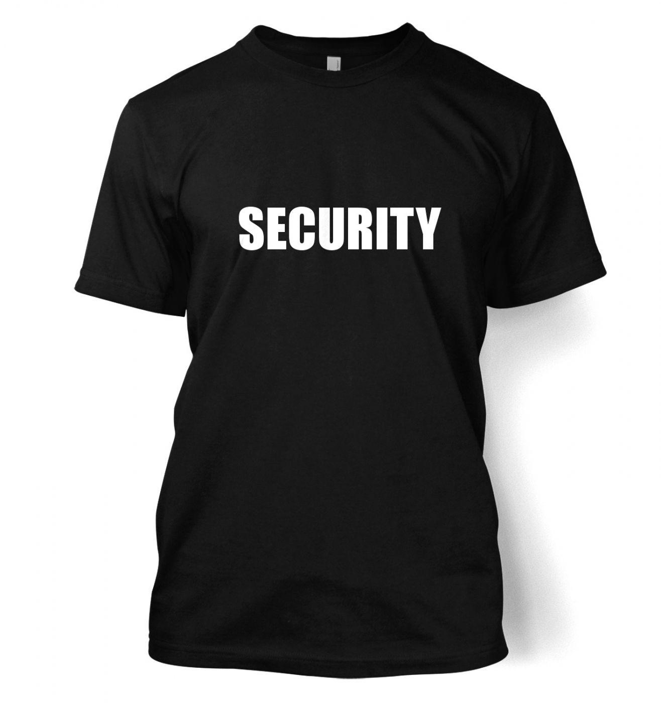 Security men's t-shirt