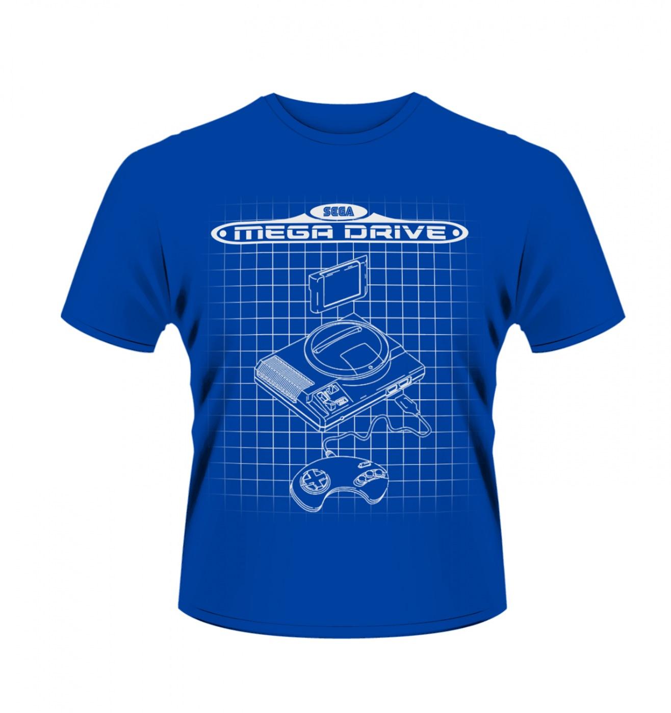 SEGA Megadrive Lines men's t-shirt - Official