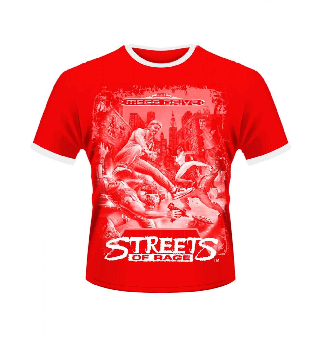 sega streets of rage mens tshirt official somethinggeeky