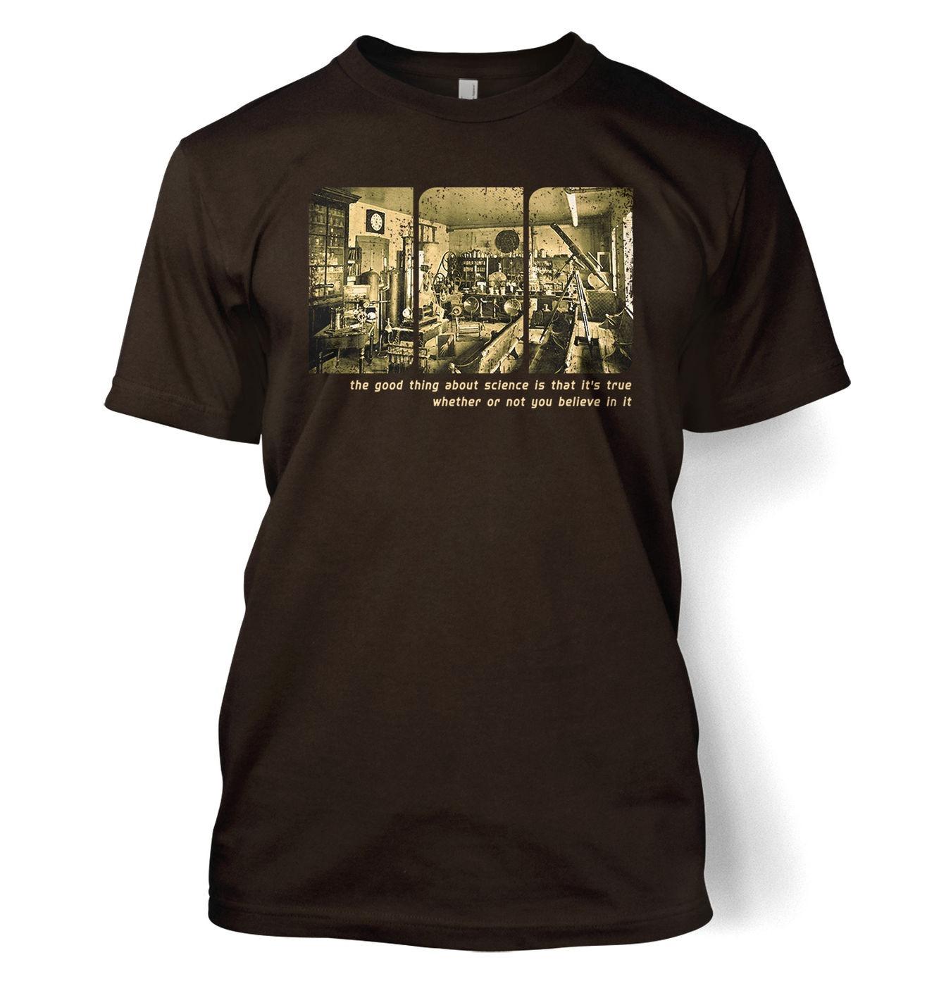 Sepia Science Lab t-shirt - Stylish geeky tshirt