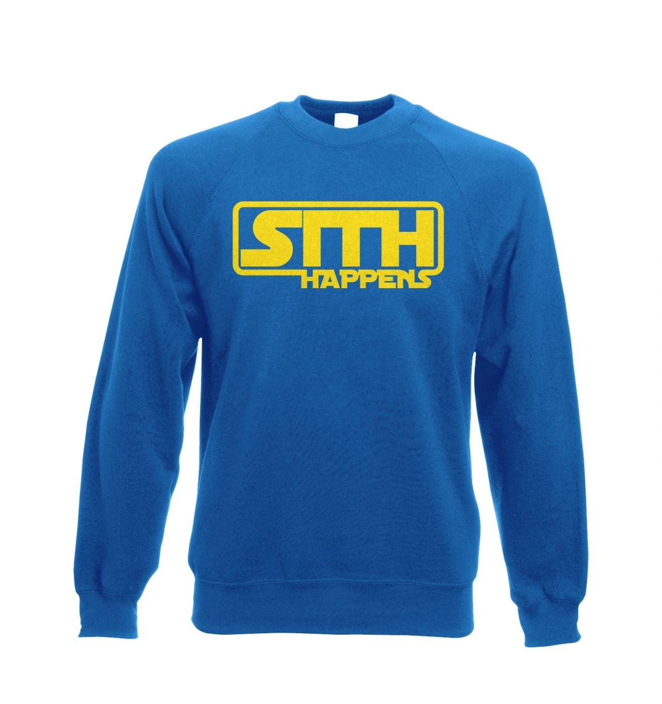 Sith Happens Adult Crewneck Sweatshirt