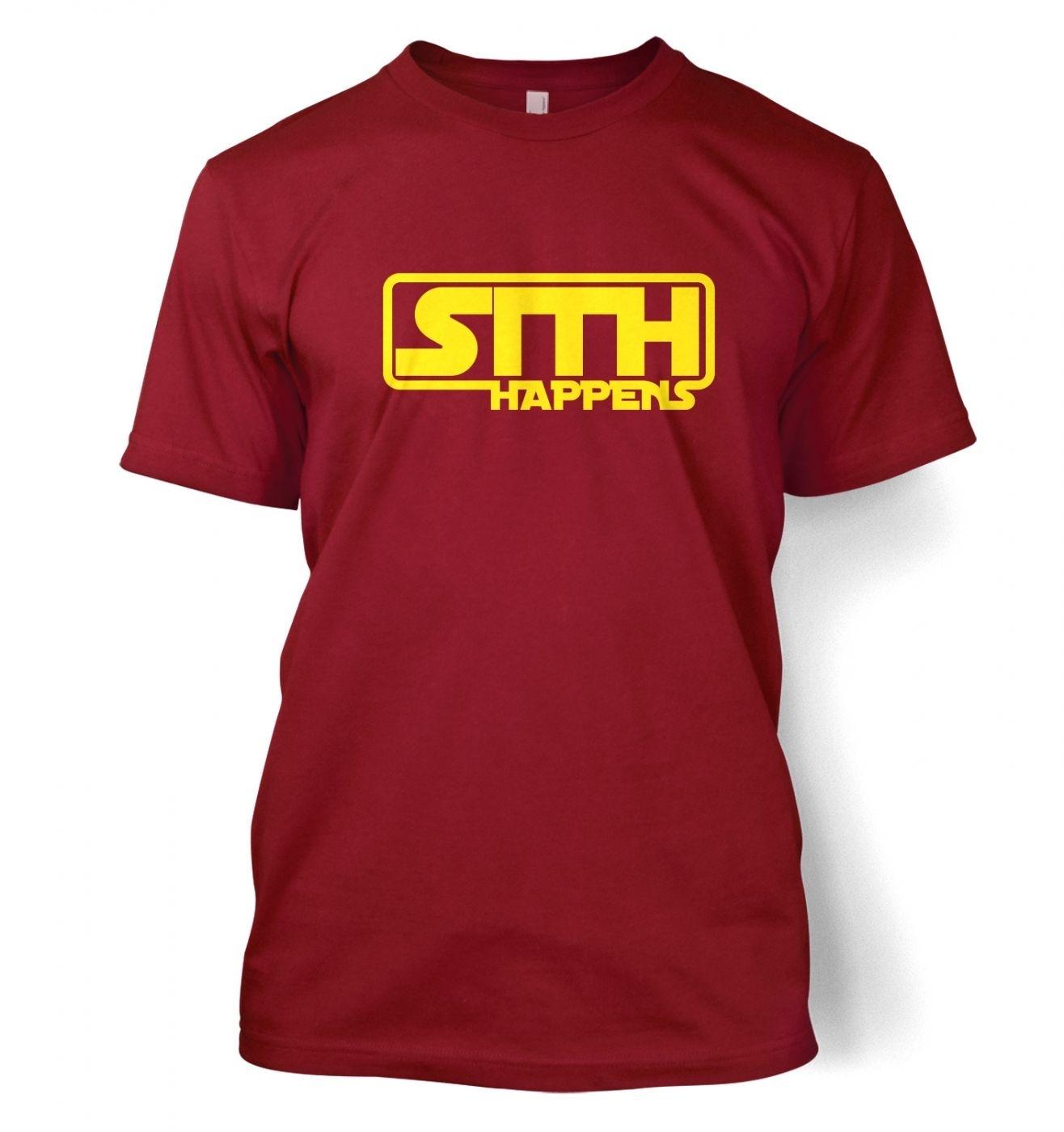 Sith Happens Adult T shirt