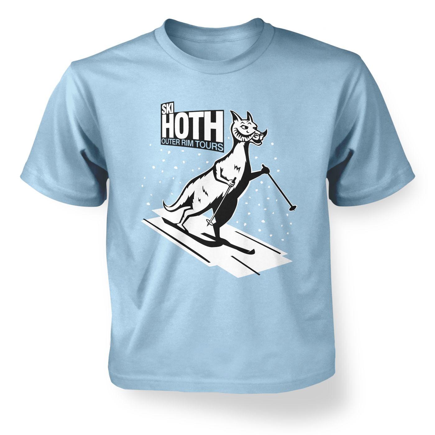 Kids' Ski Hoth t-shirt - Inspired by Star Wars