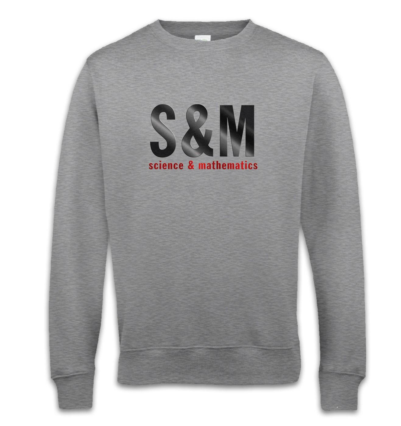S & M sweatshirt - funny science & mathematics sweatshirt