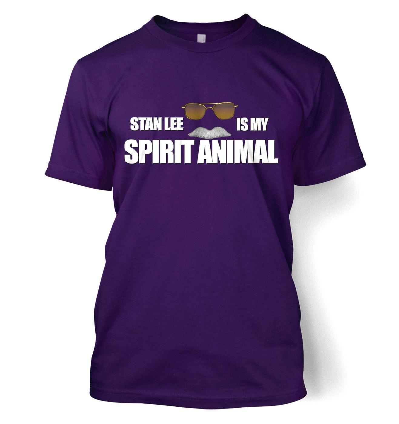 Stan Lee Is My Spirit Animal t-shirt