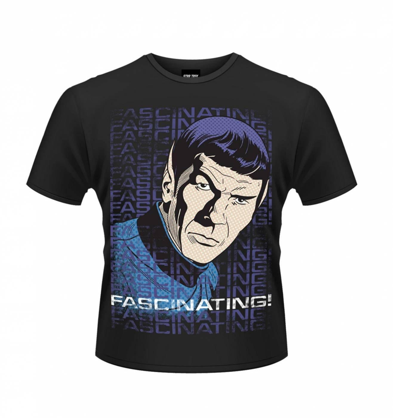 OFFICIAL Star Trek Fascinating men's t-shirt