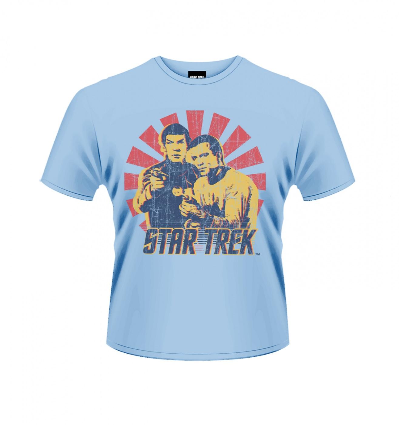 OFFICIAL Star Trek Kirk & Spock men's t-shirt