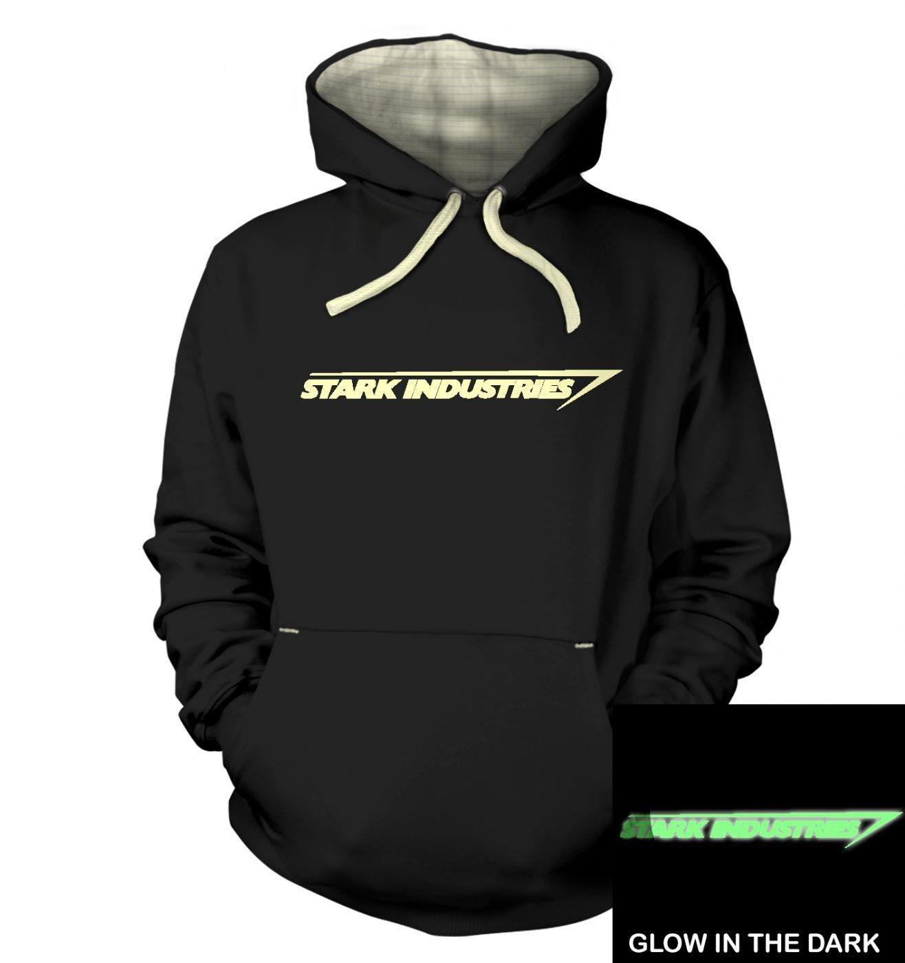 Stark Industries (glow in the dark) hoodie (premium)