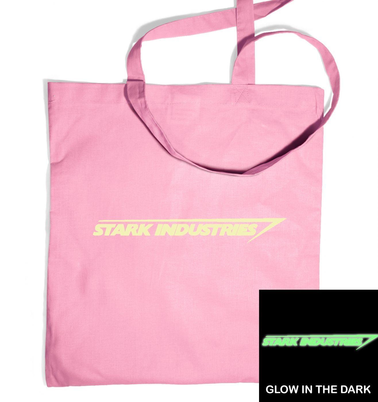Stark Industries (glow in the dark) tote bag