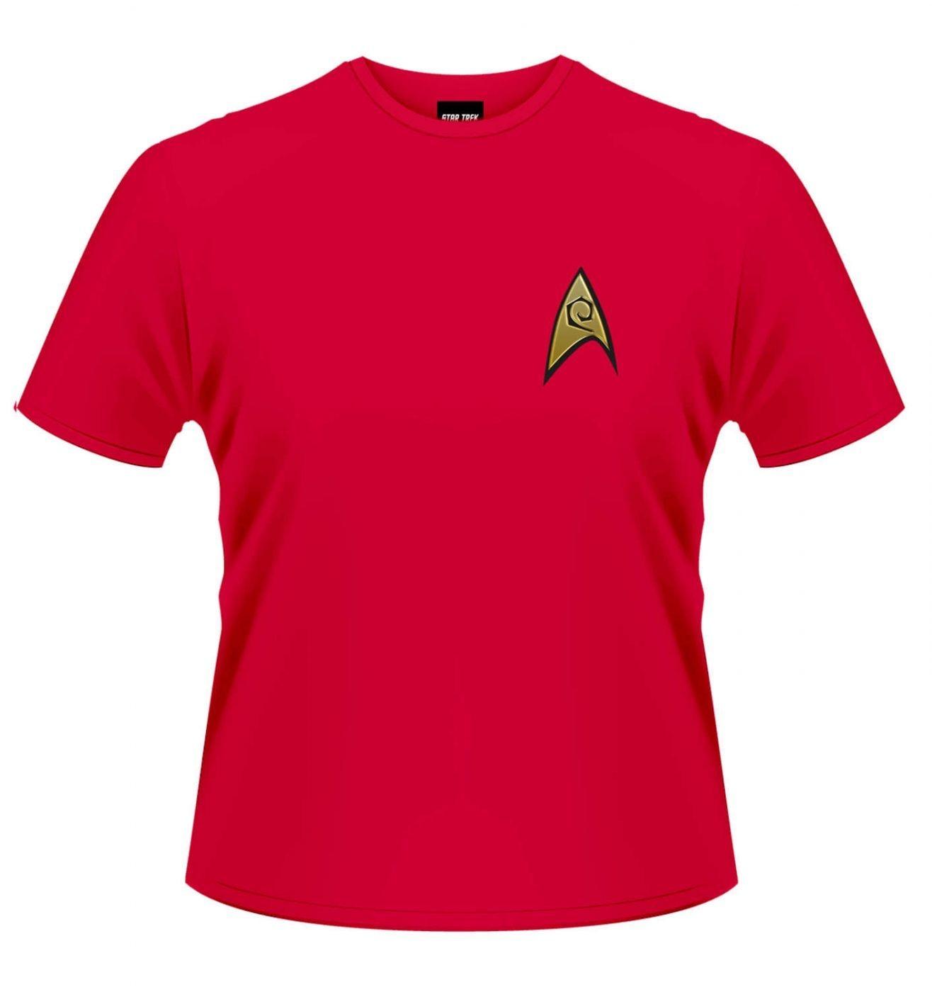 Star Trek Starfleet Uniform Ops t-shirt OFFICIAL