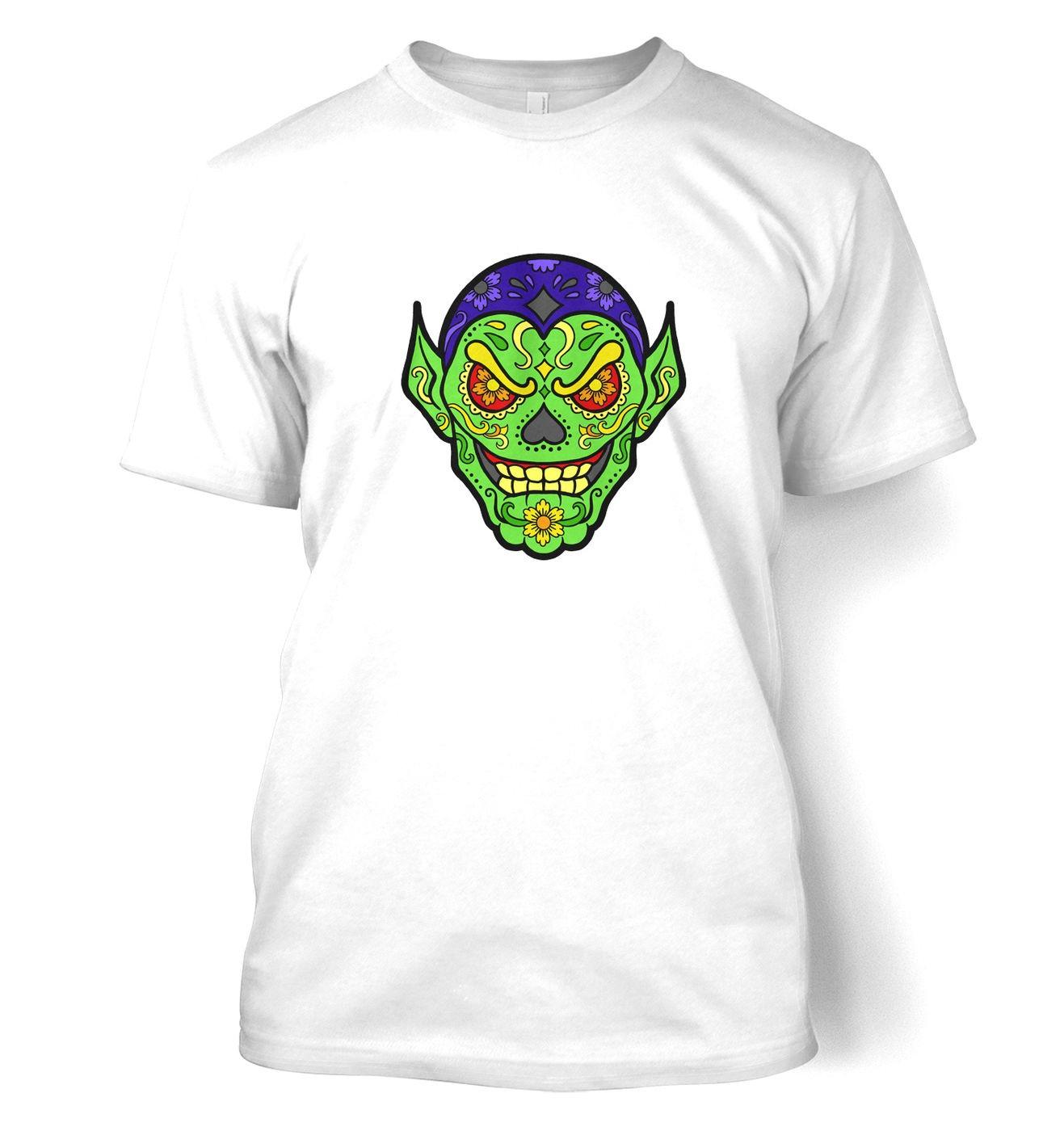 Sugar Skrull t-shirt by Something Geeky
