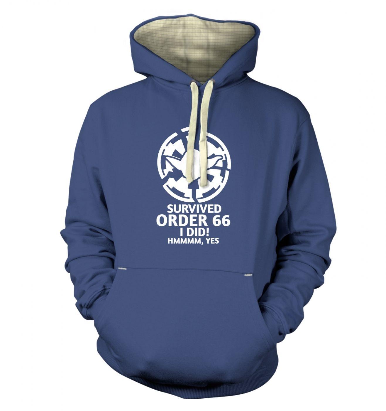 Survived Order 66 I Did premium hoodie