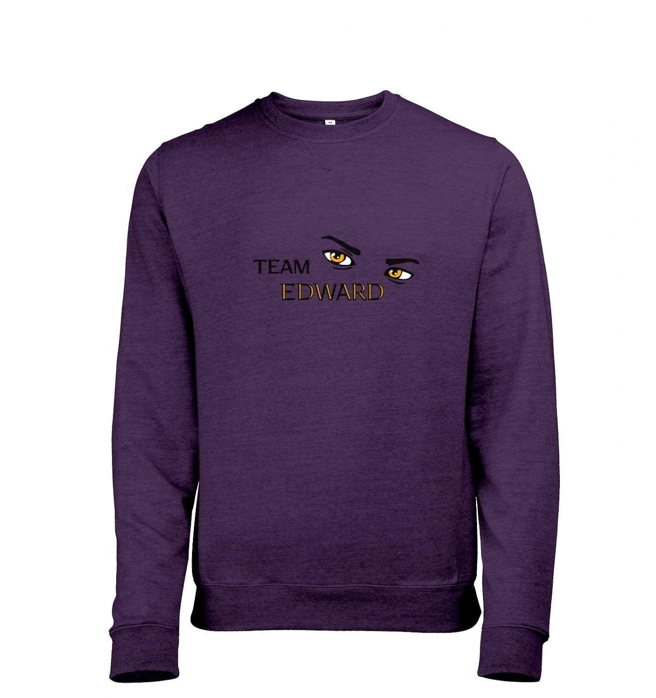 Team Edward Mens Heather Sweatshirt   - Inspired by Twilight