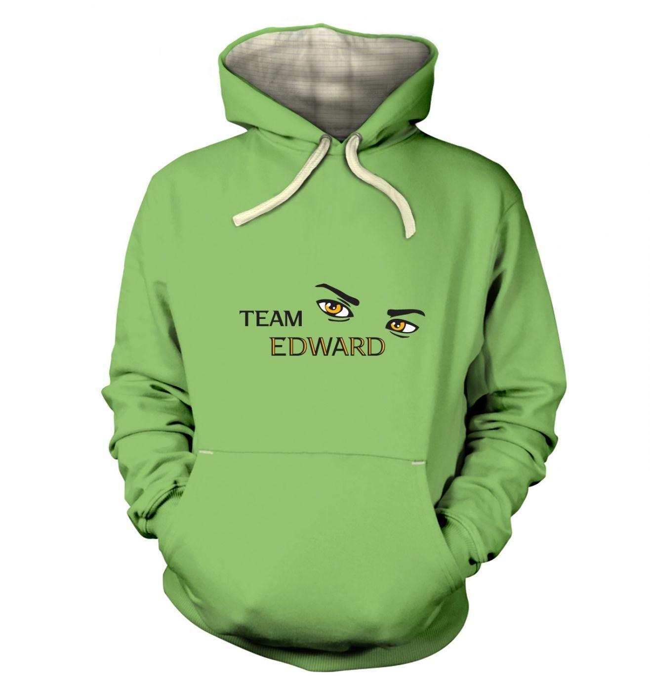 Team Edward premium hoodie