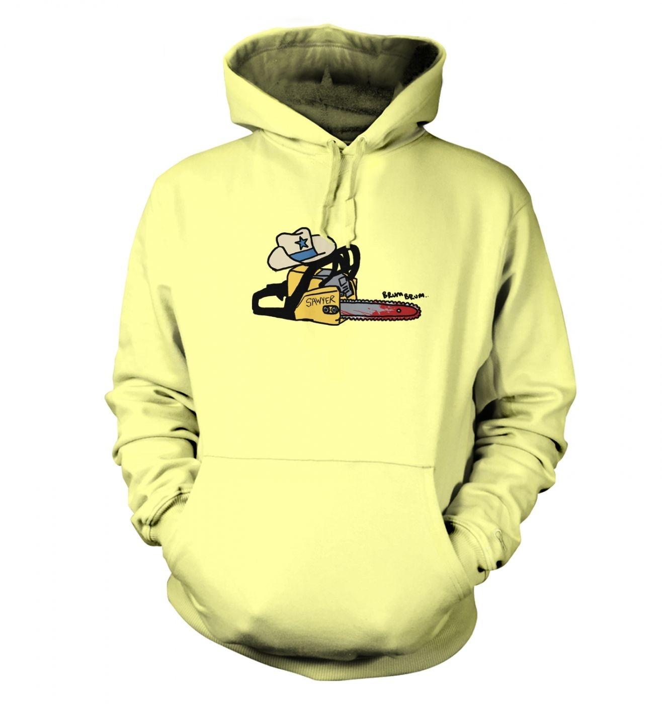 Texas Chainsawyer adults' hoodie