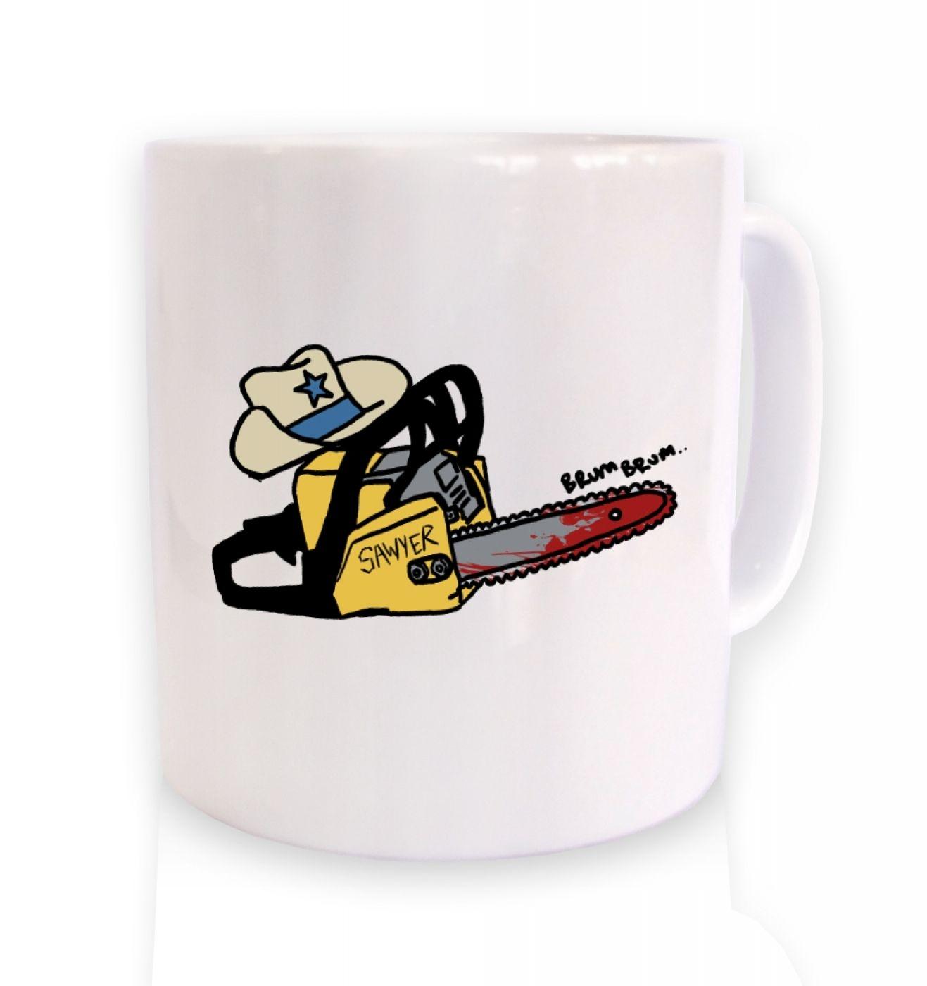Texas Chainsawyer coffee mug