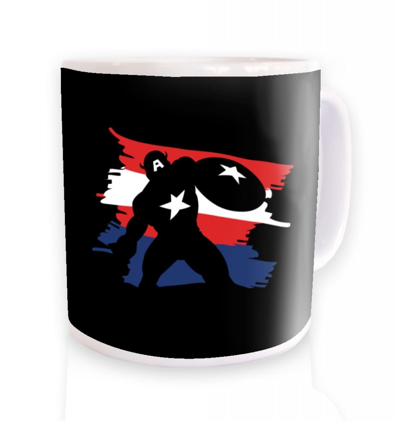 The Captain ceramic coffee mug