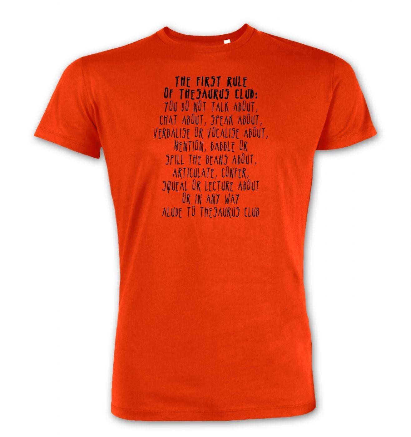 The First Rule Of Thesaurus Club men's Premium t-shirt