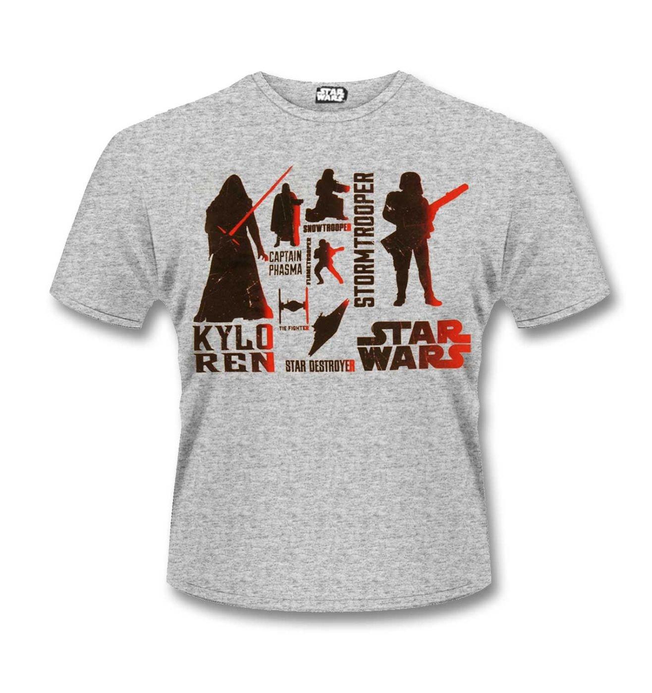 The Force Awakens Villains t-shirt - official Star Wars merchandise