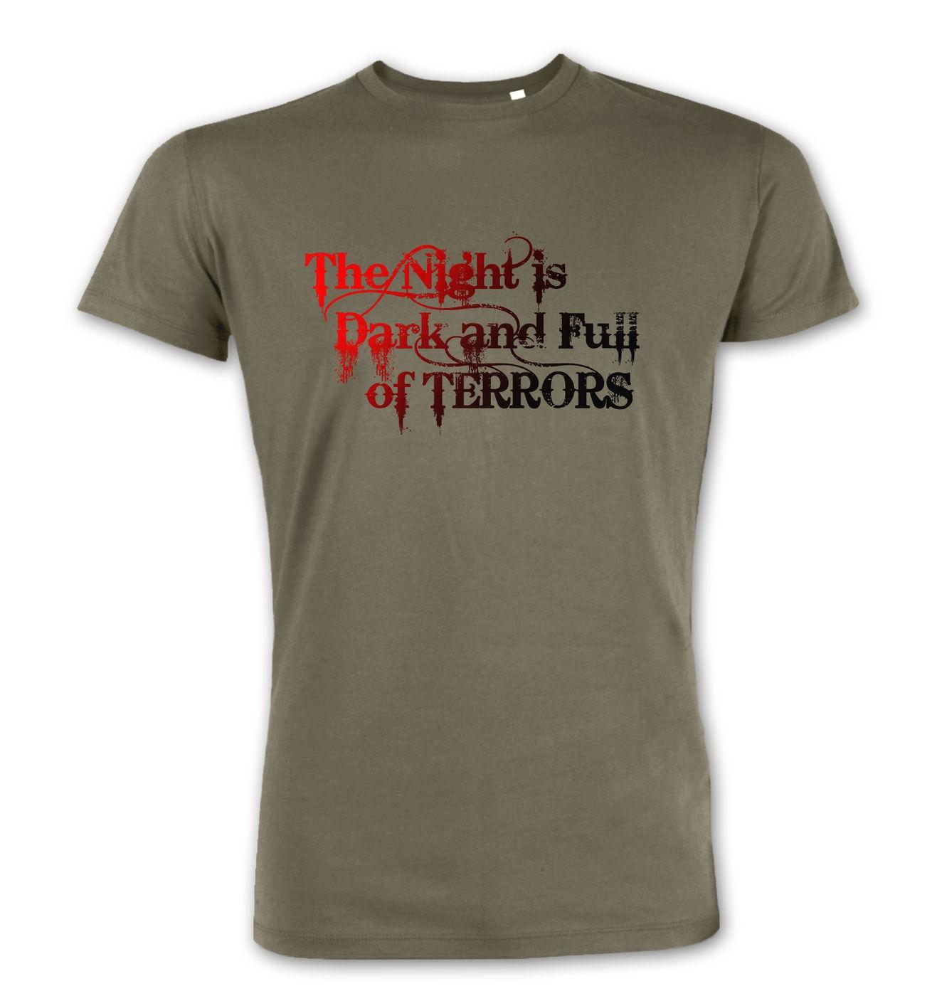 4a8b45ec The Night is Dark and Full of Terrors premium t-shirt - Somethinggeeky