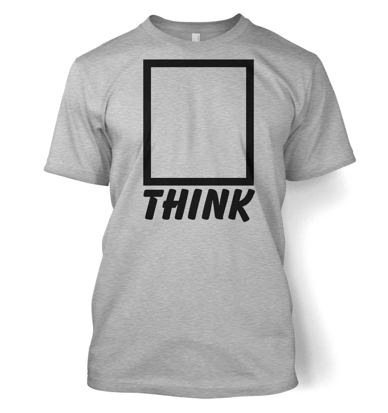Think outside the box men's t-shirt