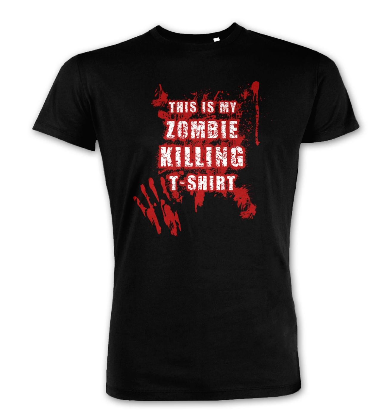 This Is My Zombie Killing Premium t-shirt men's Premium t-shirt