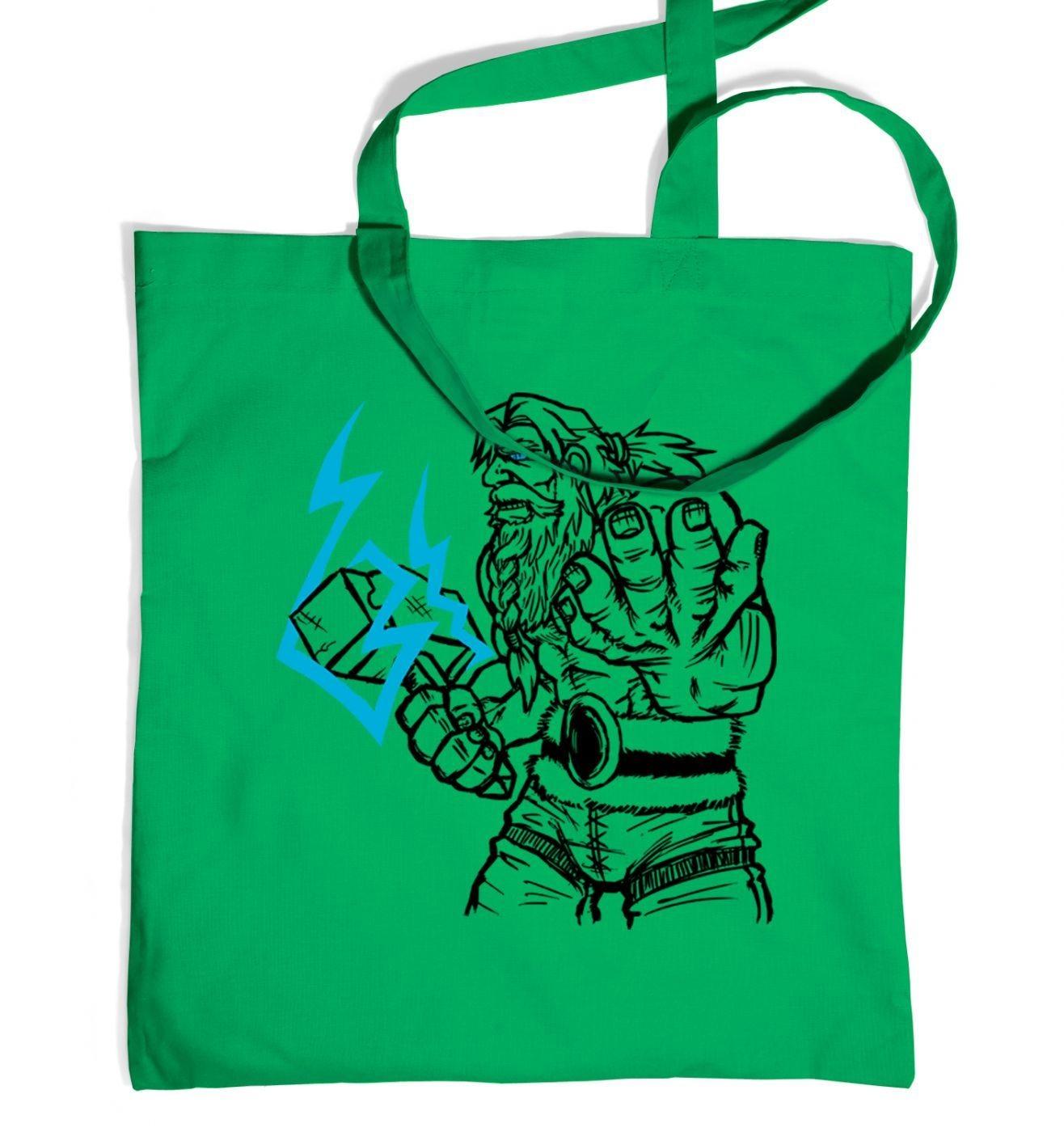 God Of Thunder Lineart Thor tote bag