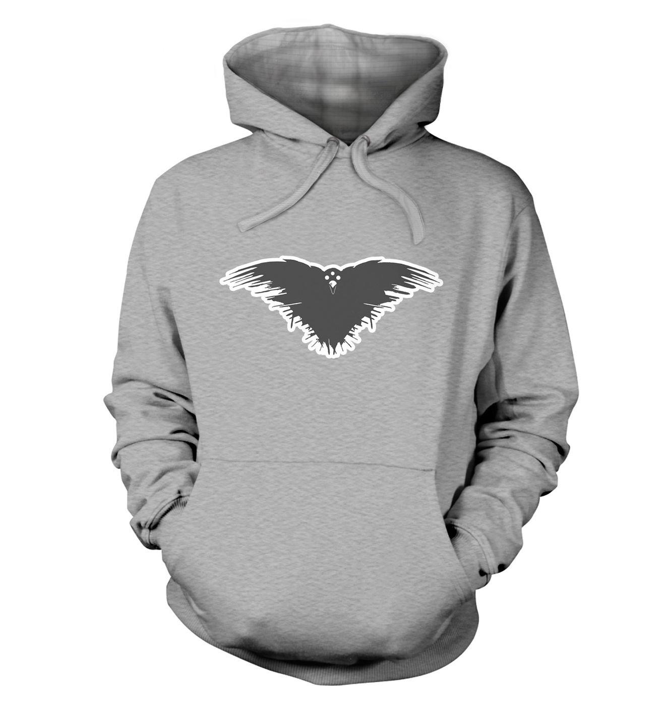 Three Eyed Crow premium hoodie by Something Geeky