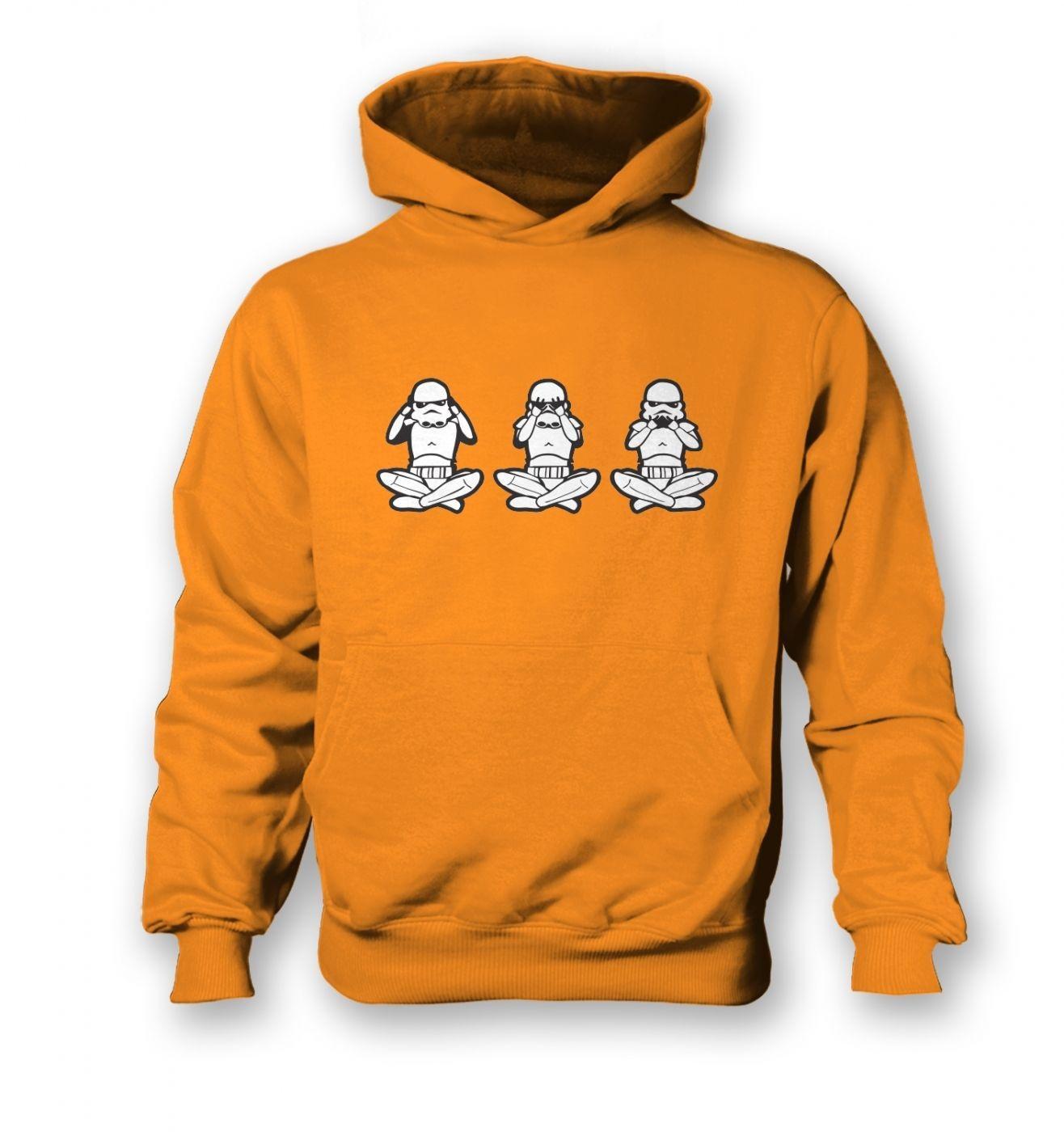 Three Wise Stormtroopers kid's hoodie