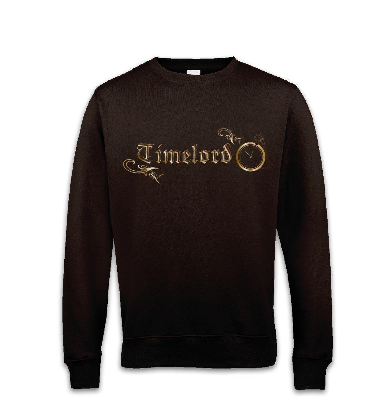 Timelord Ornate sweatshirt