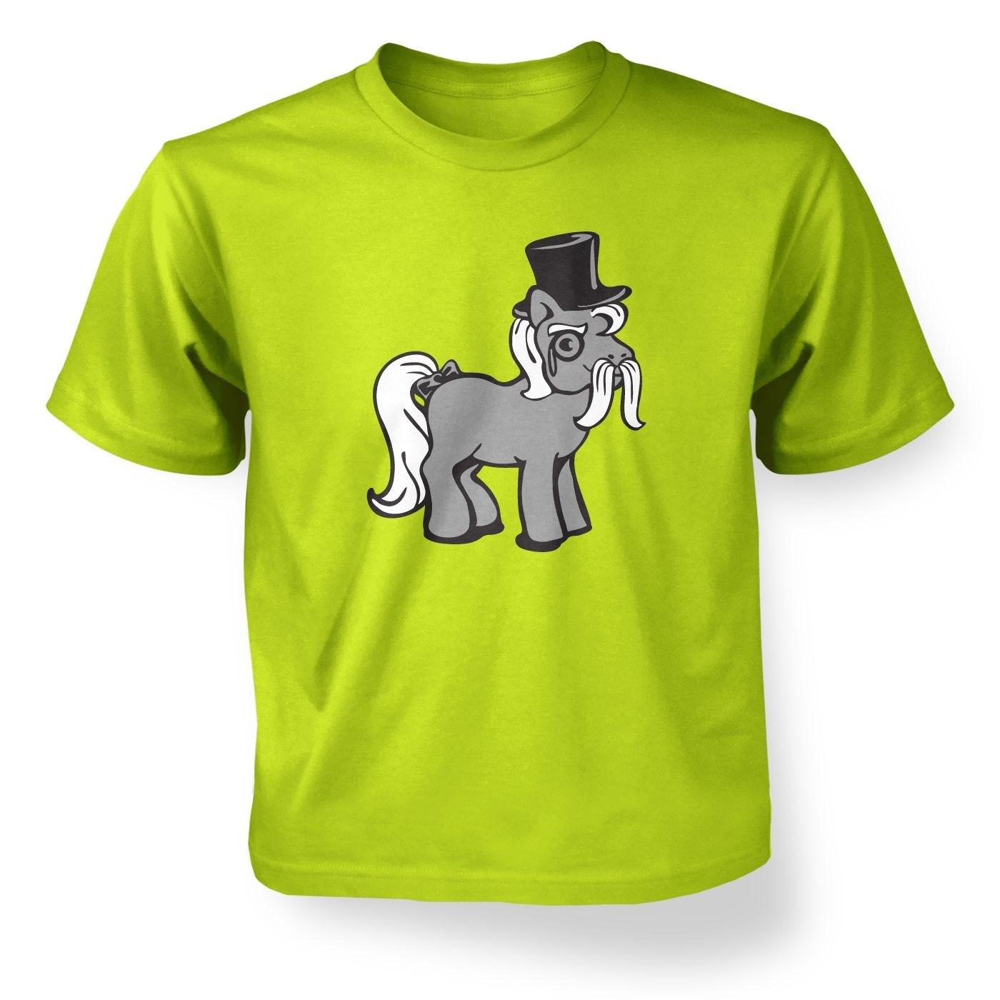 Top Hat Pony Kids' T-shirt