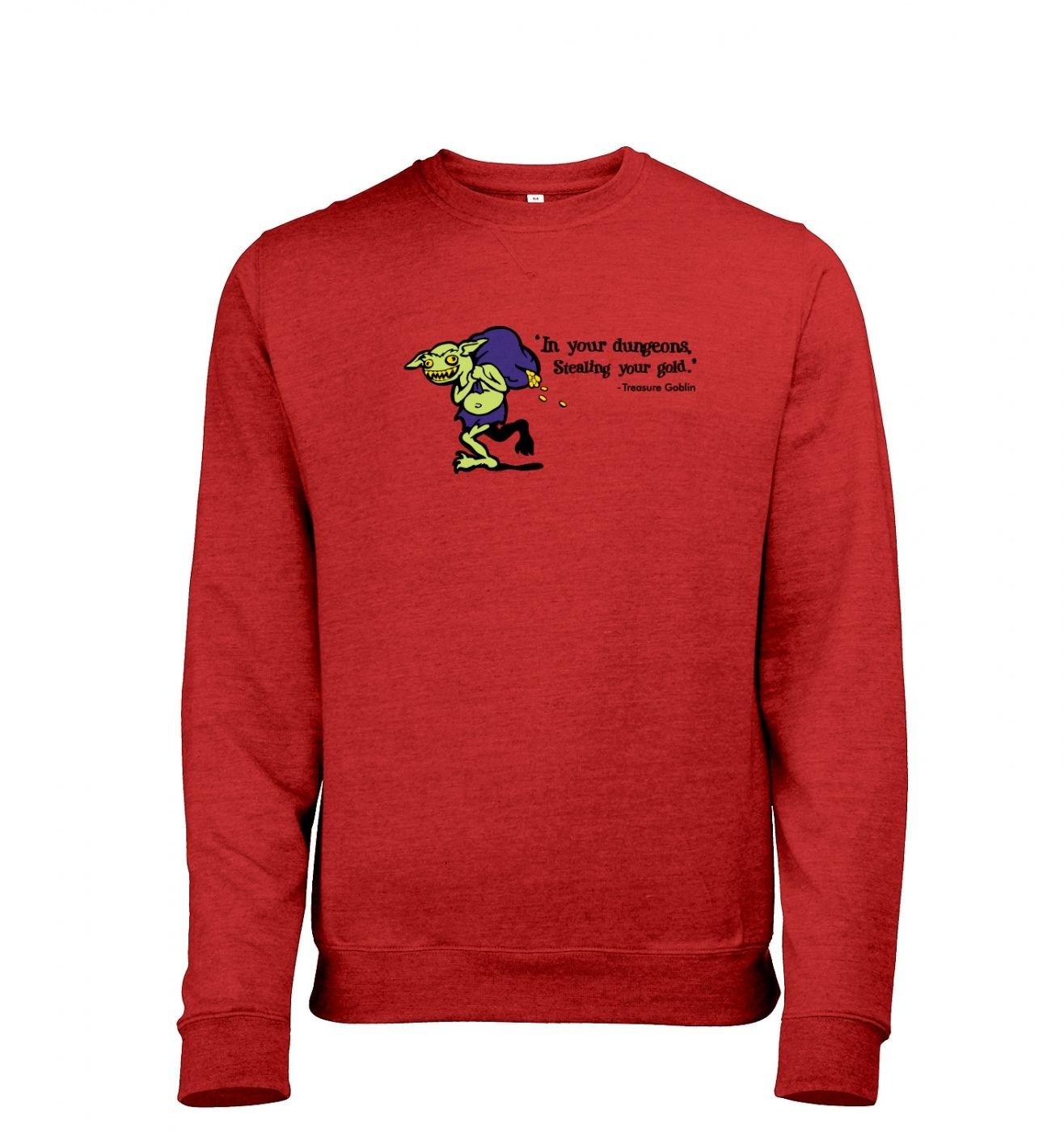 Treasure Goblin men's heather sweatshirt