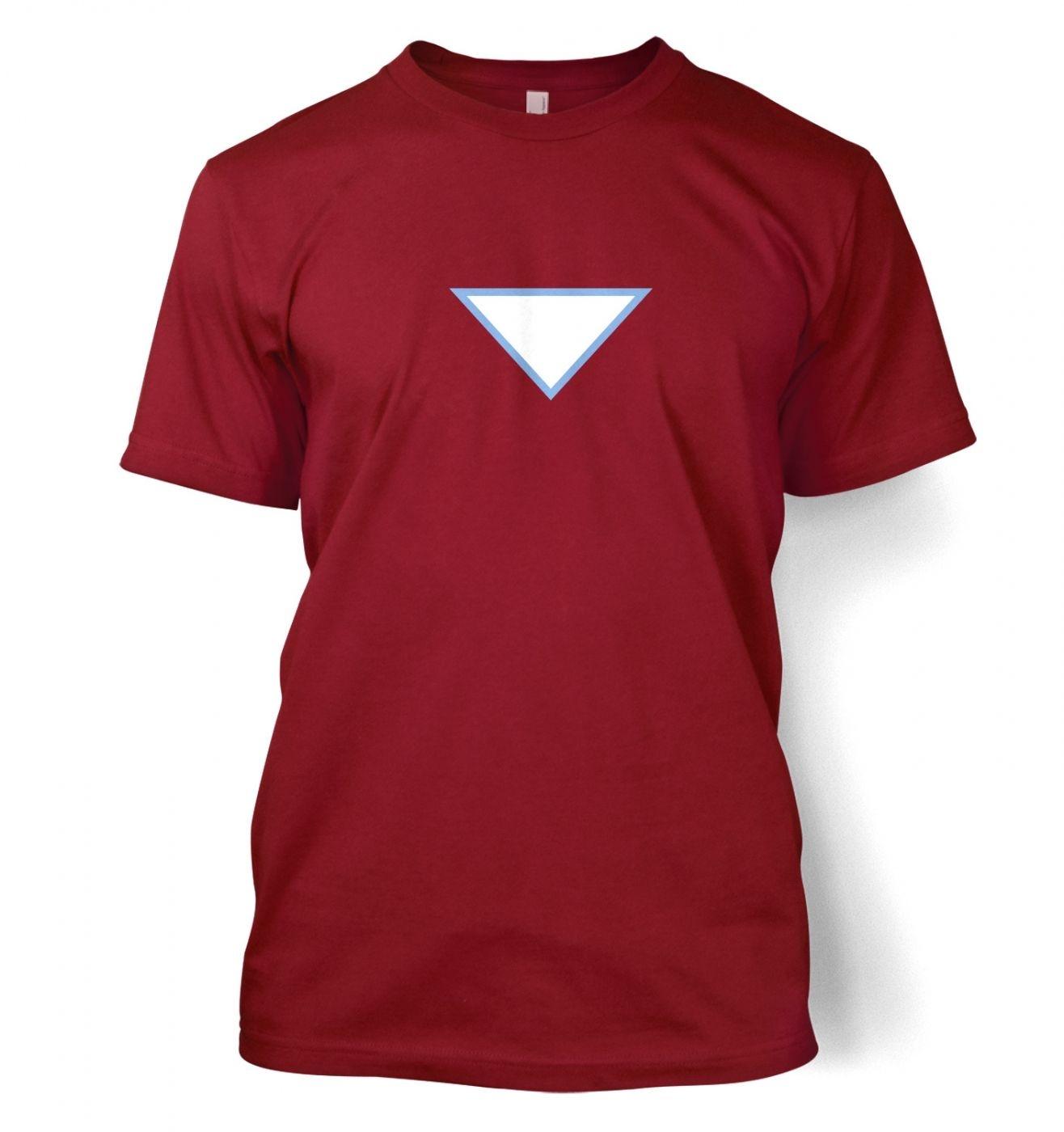 Triangular Power Cell men's t-shirt