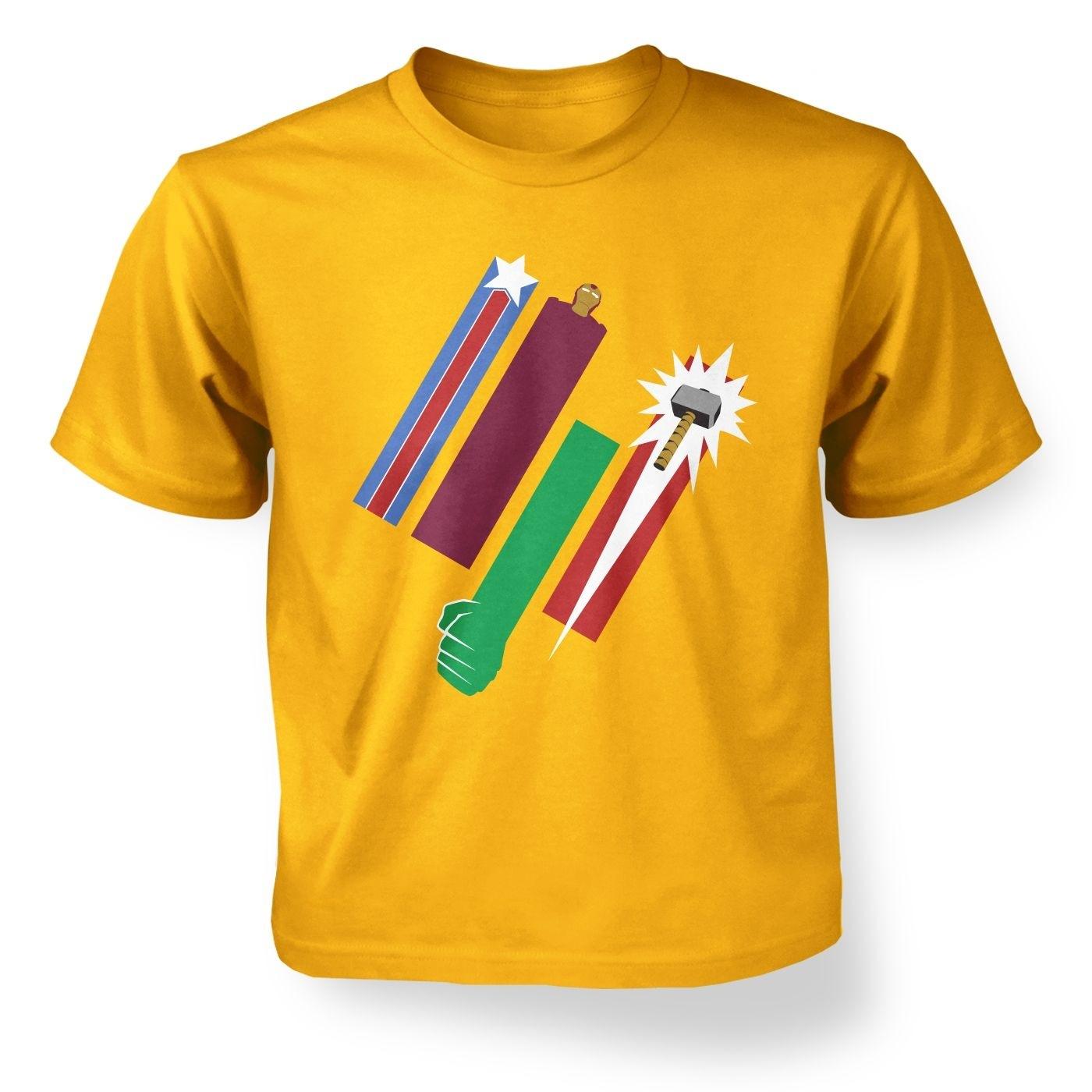 United Colours Of Avengement kid's t-shirt