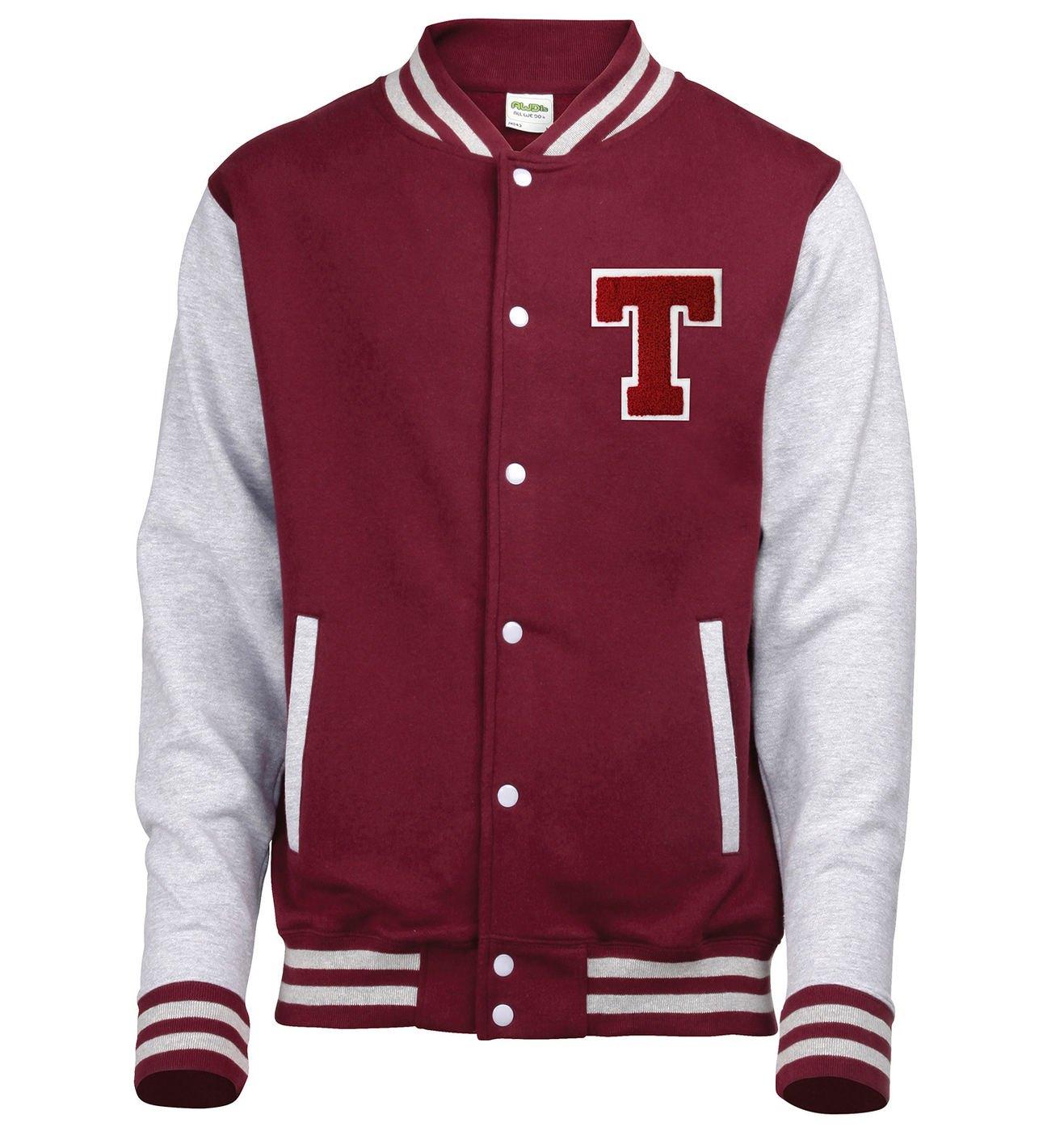 varsity jacket chenille letter tvarsity jacket With chenille letters for varsity jackets