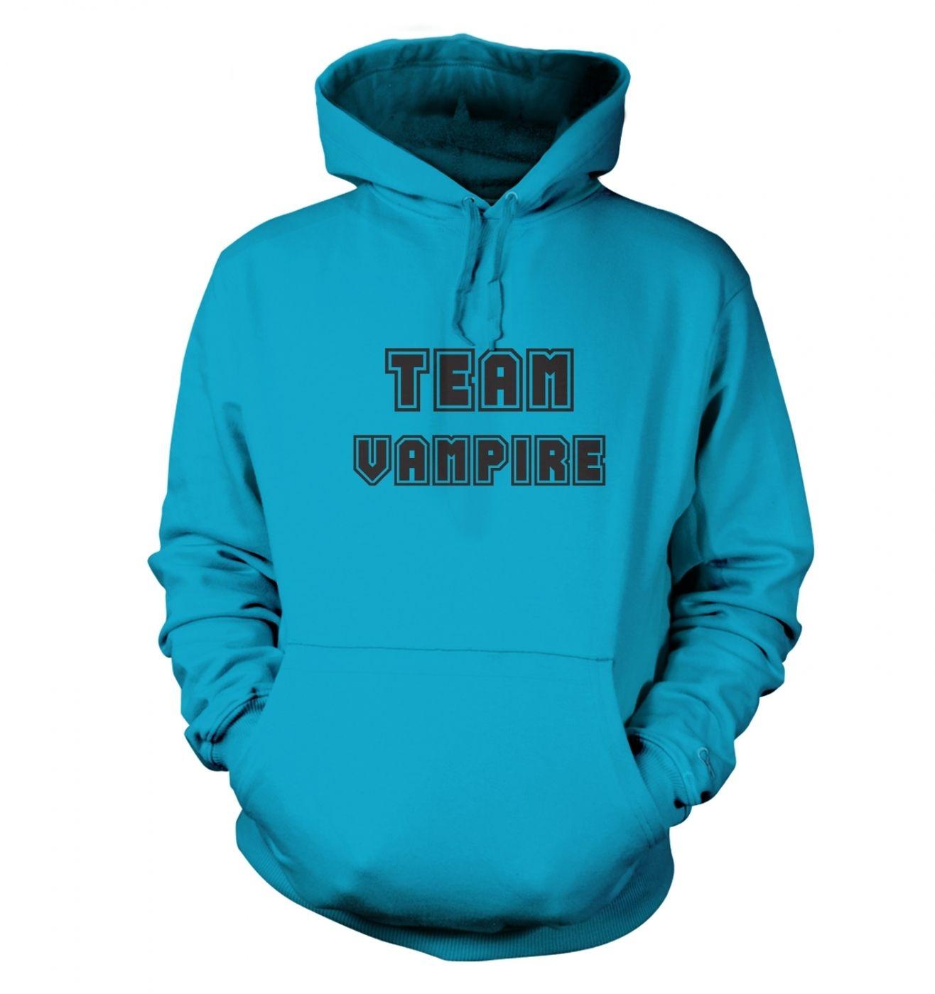 Varsity Style Team Vampire Adult Hoodie
