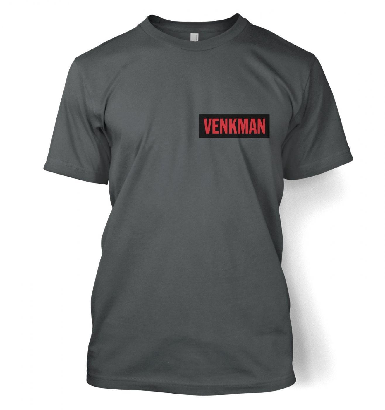 Venkman Name Tag men's t-shirt