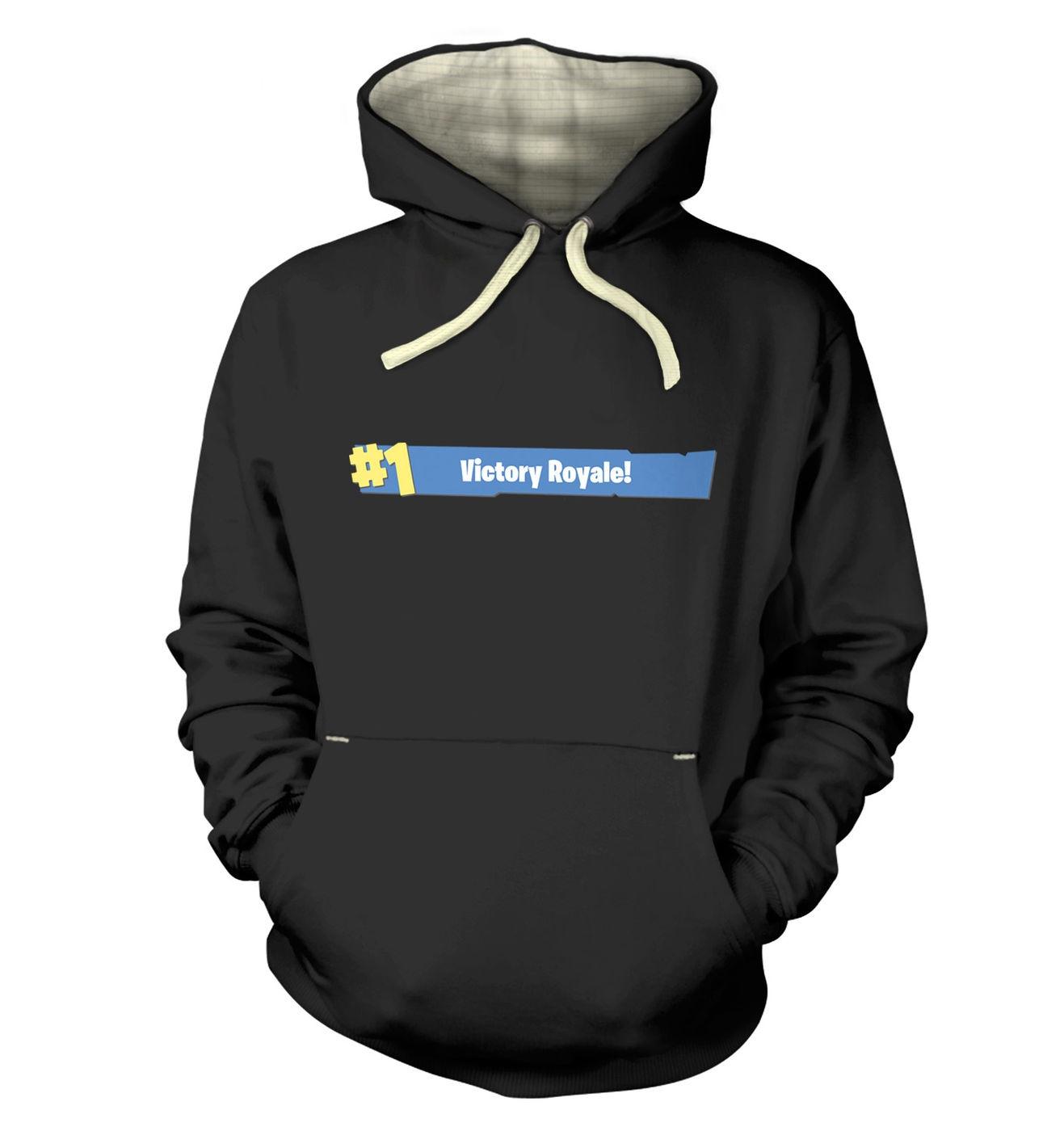 Victory Royale premium hoodie by Something Geeky