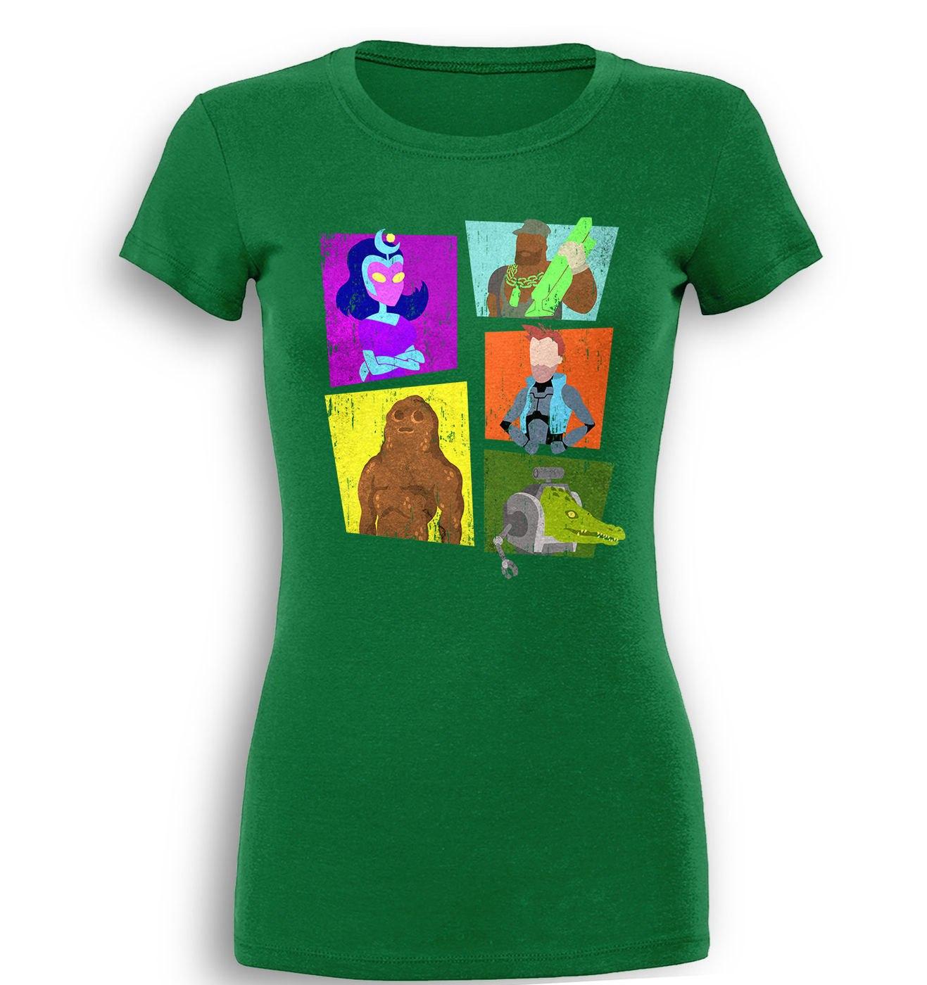 Vindicators 3 premium women's t-shirt by Something Geeky