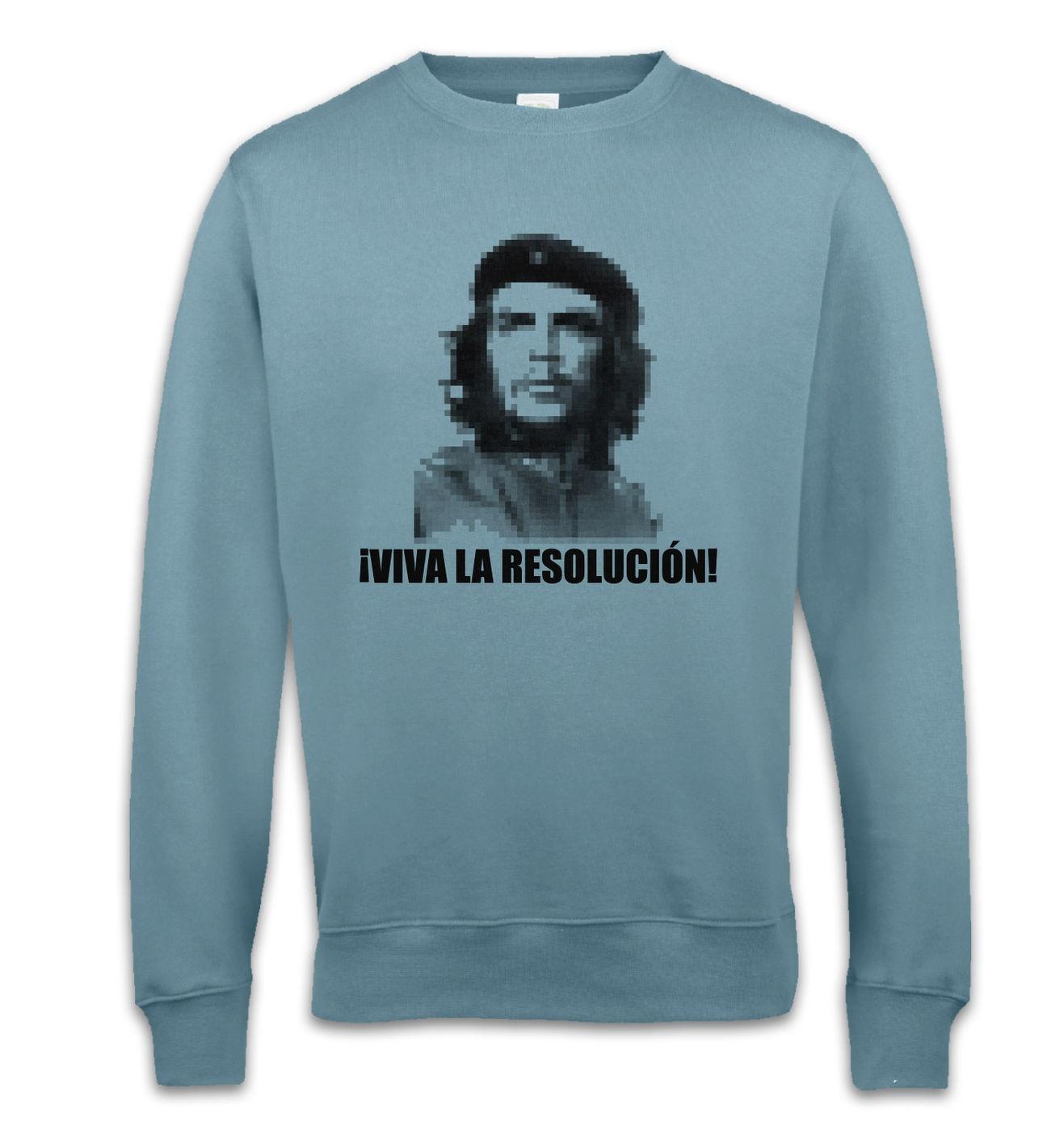 Viva La Resolucion sweatshirt - Funny geeky Che Guevara sweater