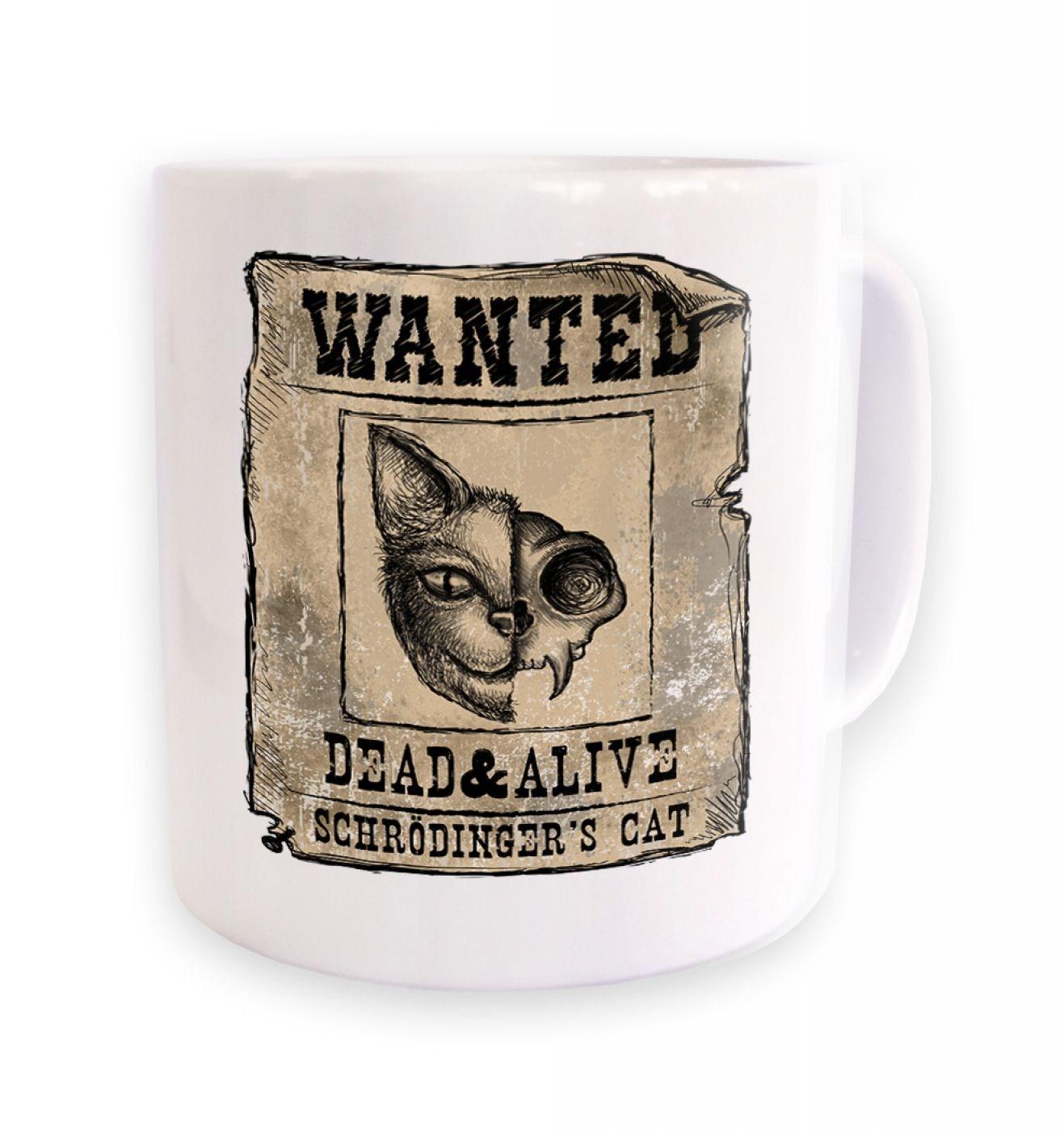 Wanted: Schrodinger's cat  mug