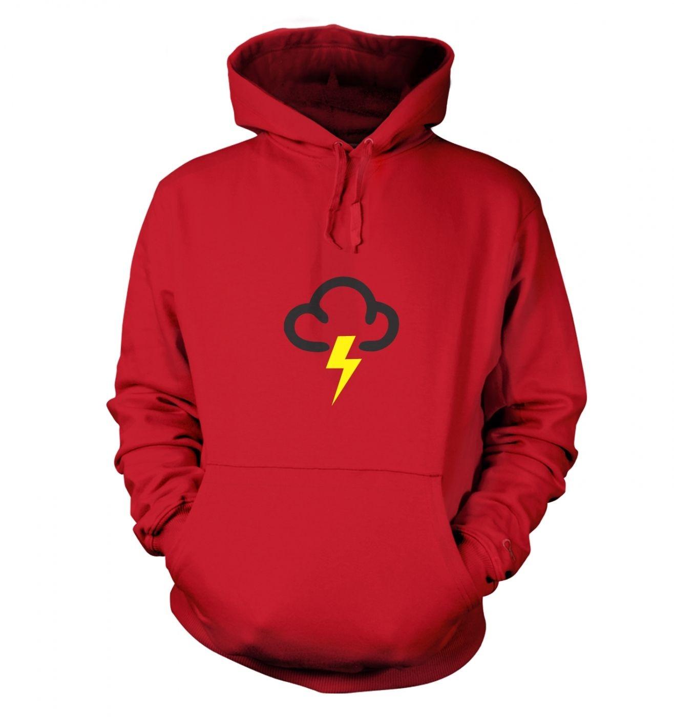 Weather Symbol Thunderstorms hoodie