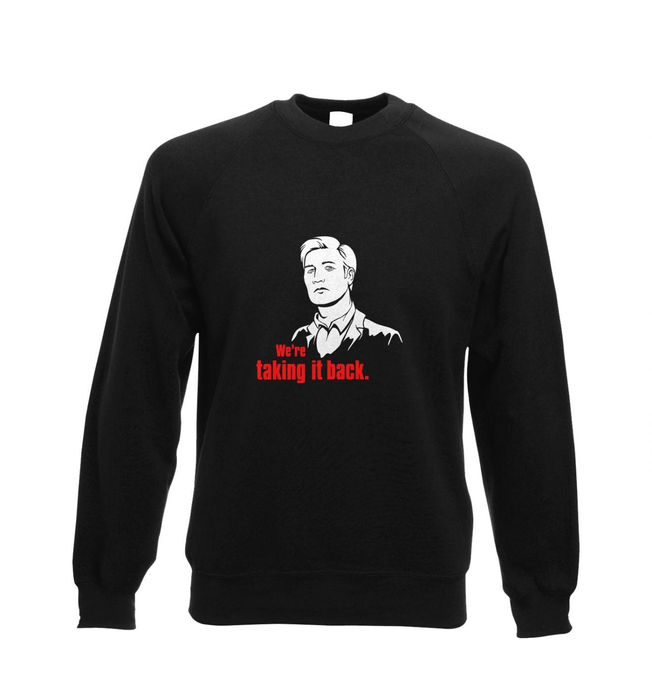 We're taking it back Adult Crewneck Sweatshirt