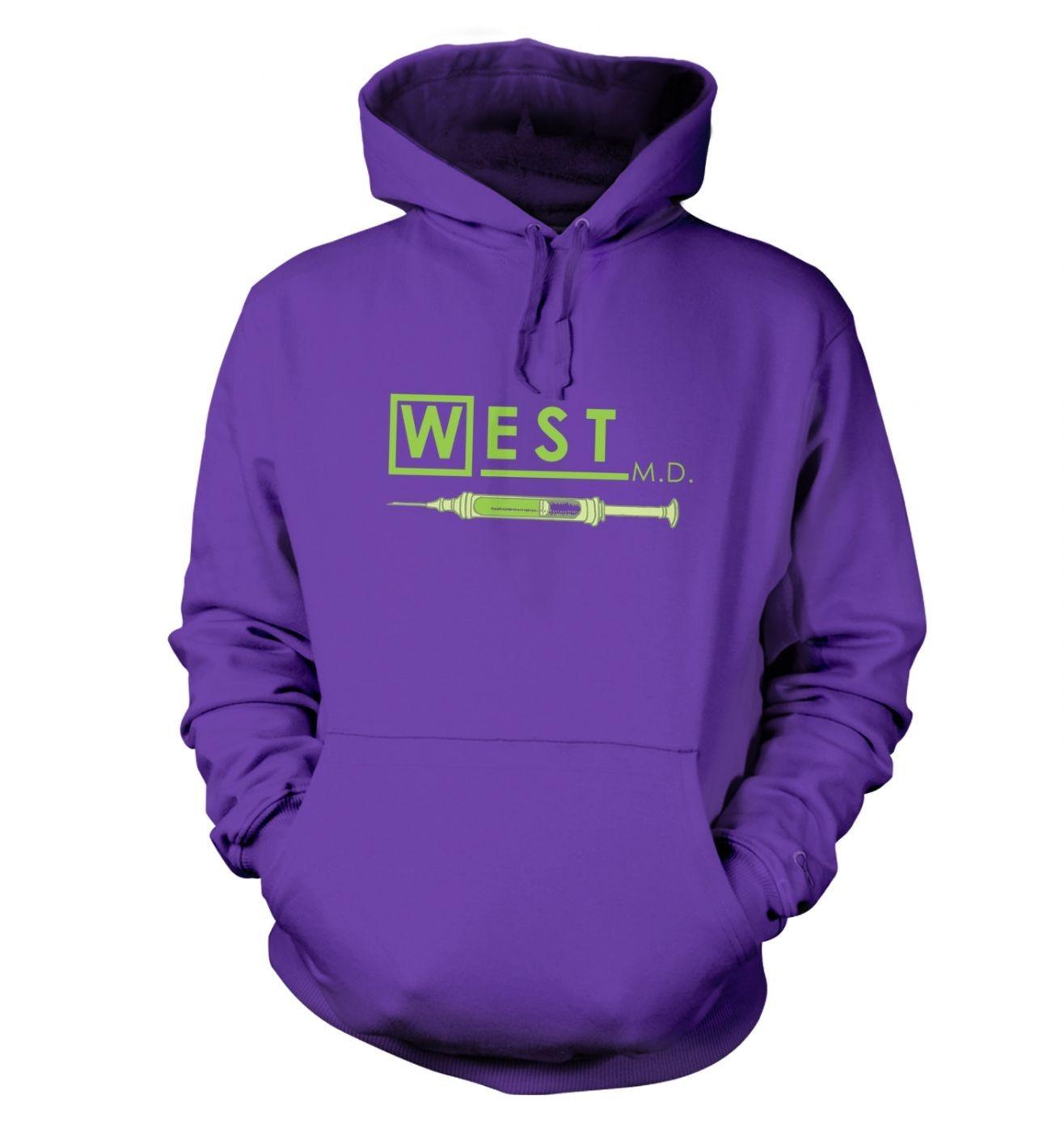 West MD HP Lovecraft hoodie - Somethinggeeky