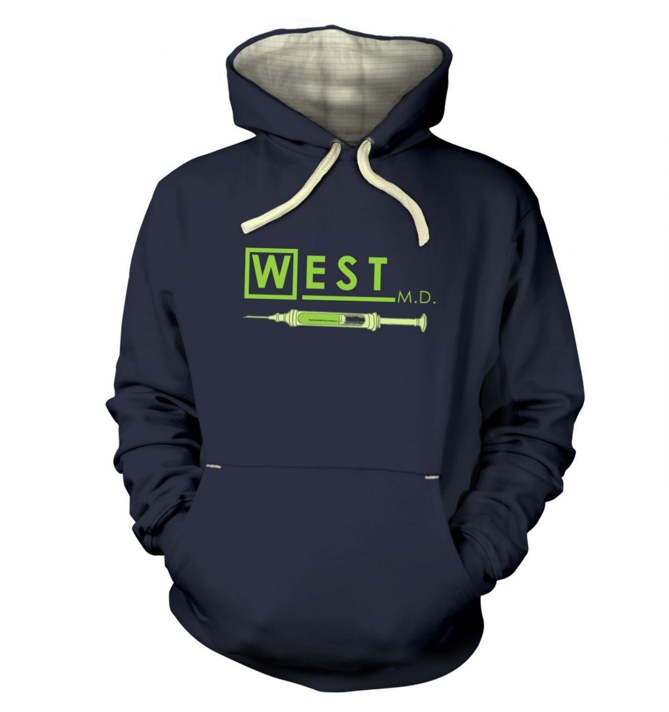 West MD HP Lovecraft hoodie (premium)